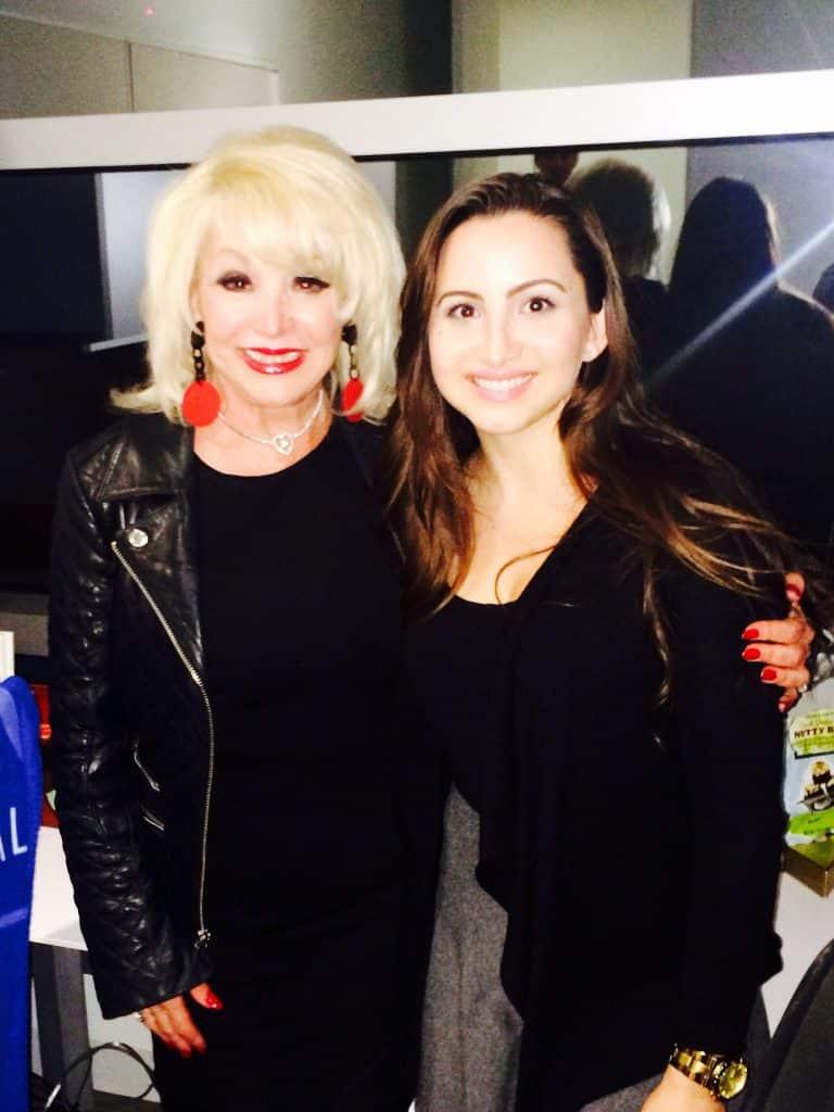Shelley Fisher and Melissa Bertolone